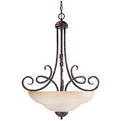 Savoy House Somerset Tuscan 3 light Rustic Bronze Pendant