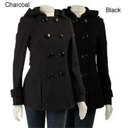 Miss Sixty Womens Sculpted Peacoat