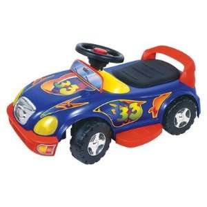 My First Racer Battery Powered Ride On Toy in Blue Toys & Games