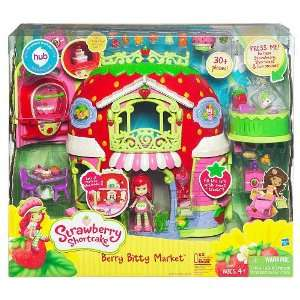 Strawberry Shortcake Berry Bitty Market Playset Toys