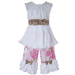 Ann Loren Girls Boutique Shabby Chic Capri Outfit