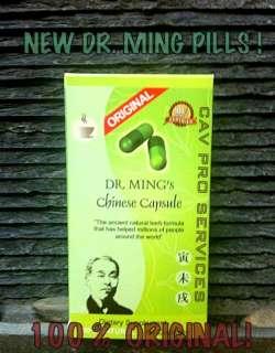 TE CHINO DE DR MING EN CAPSULAS ! COMPRE ORIGINAL !