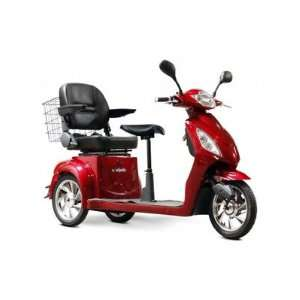 66 Electric Mobility Scooter Color Red Health & Personal