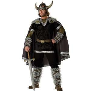 Elite Mens Viking Warrior Costume   Large