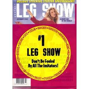 Leg Show Magazine December 2000 Mailyn Chambers: LEG SHOW: Books