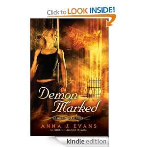 Demon Marked: A Demon Bound Novel: Anna J. Evans:  Kindle