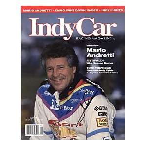 Mario Andretti Autographed / Signed Indy Car Racing