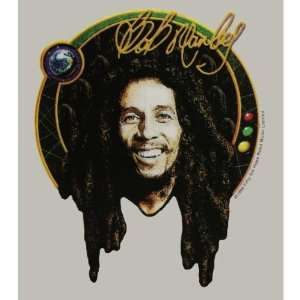 Bob Marley   Signature Photo Clear Decal Automotive