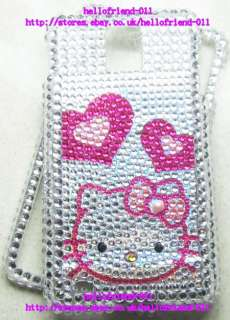 Hello kitty Bling Case Cover For Samsung Infuse 4G i997 #10