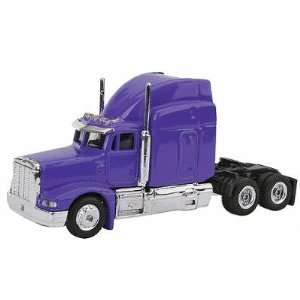 20102 1/87 Peterbilt Semi Truck Cab Purple HO: Toys & Games