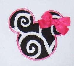 Ann Loren Girls Polka Dot Mouse Capri Set