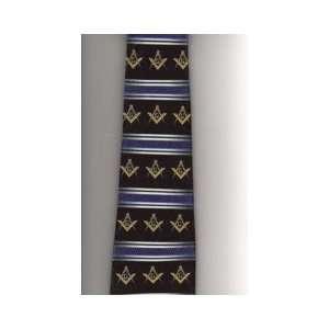Masonic Square & Compass Tie