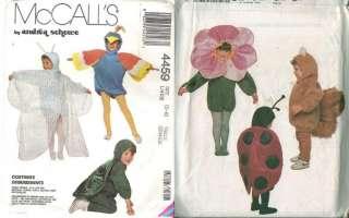 McCalls Childs Halloween Costume Sewing Pattern Uncut Boys Girls Kids
