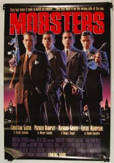 MOBSTERS 1991 Christian Slater, Patrick Dempsey POSTER