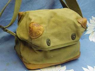 536 ORIGINAL LEATHER BOTTOM WORLD WAR II AMMO BAG CS 41 CUBE