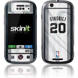 M. Ginobili   San Antonio Spurs #20 skin for Motorola CLIQ