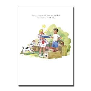 Super Industrial Love Valentines Day Greeting Card