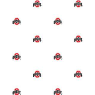 Ohio State Buckeyes   Set of 2 Logo Wallpaper Rolls: Home