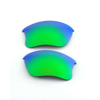 Emeraldine Lenses For Oakley Flak Jacket XLJ 609224339905