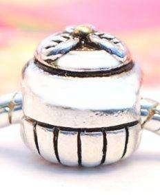925 SILVER BEAD EUROPEAN CHARM SWEET CUPCAKE CAKE A70 for Bracelet