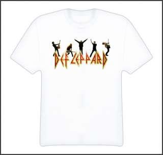 Def Leppard rock heavy metal music t shirt ALL SIZES