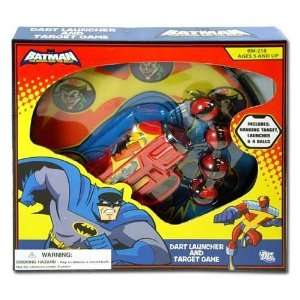 BATMAN DART LAUNCHER AND TARGET GAME  Toys & Games
