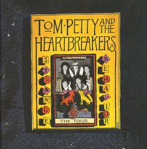 TOM PETTY 1989 STRANGE BEHAVIOR Tour Concert Program