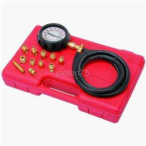 Oil Pressure Tester Test Gauge Diagnostic Test Tool Set Kit