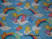 Care Bears Blue Baby Boy Girl Nursery Curtain Valance