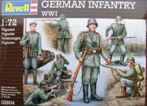 RVG2504 WWI German Infantry Figures (50) 1 72 Revell Ge