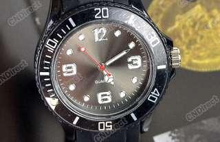 Fashion Unisex New Fashion Silicone Quartz Jelly Watch Gifts