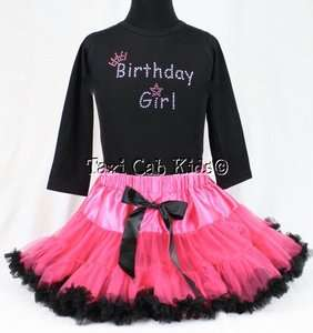 New Set *Birthday Party Girl Outfit* Custom Rhinestone Shirt