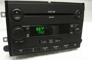 CONDITION NEW FORD FUSION 2007 OEM FACTORY 6 DISC  CD PLAYER RADIO