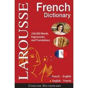 Concise French english/english french Dictionary (English and French