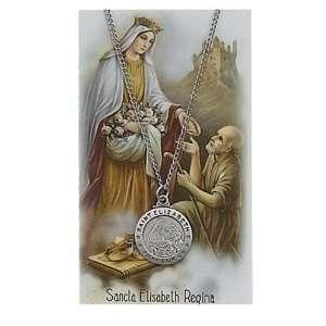 Saint Gift Set PSD600EZ St. Saint Elizabeth Prayer Card Set Jewelry