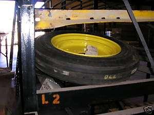 Used John Deere Front Rib Tires & Rims 5 15 fit 770