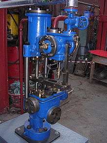 Vintage Steam Powered Water Feed Pump for Steam Boiler