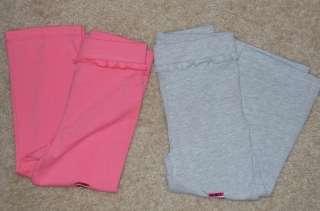 Baby Girls Garanimals Solid Bootleg Pants Sz 18M,3T,4T NEW