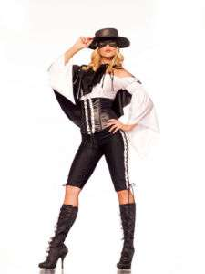 Sexy Female Zorro Fantasy Costume BW829 S/M