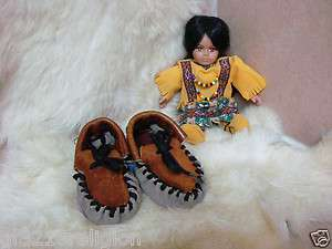 Handmade Baby Infant Toddler Native American Moccasins