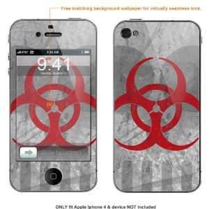 for AT&T & Verizon Apple Iphone 4 case cover iphone4 288 Electronics