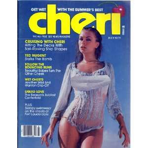 80 (JULY 1980 TED NUGGENT WITH CHERRY BOMB) CHERI MAGAZINE Books