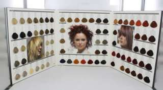 Keune Tinta Color / Color Styling Mousse Swatch Chart