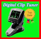 Clip on Style Tuner For Electronic Digital Chromatic Bass Violin
