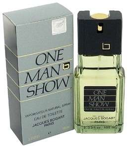 One Man Show Cologne Jacques Bogart Men 3.3 oz EDT NIB
