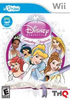 Wii   uDraw Disney Princess Enchanting Storybooks