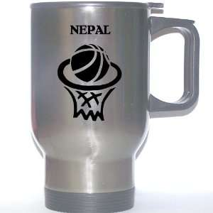 Nepali Basketball Stainless Steel Mug   Nepal Everything