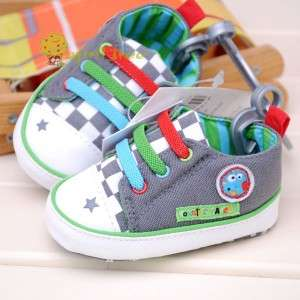 Cute Toddler Baby Boy shoes Sneaker first shoes(E11)size 2 3 4
