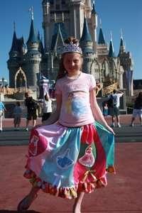 custom boutique birthday Disney Princesses dress Cinderella sz 3 5 7 6
