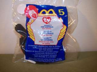 LUCKY THE LADYBUG McDonalds Happy Meal Toy by TY #5
